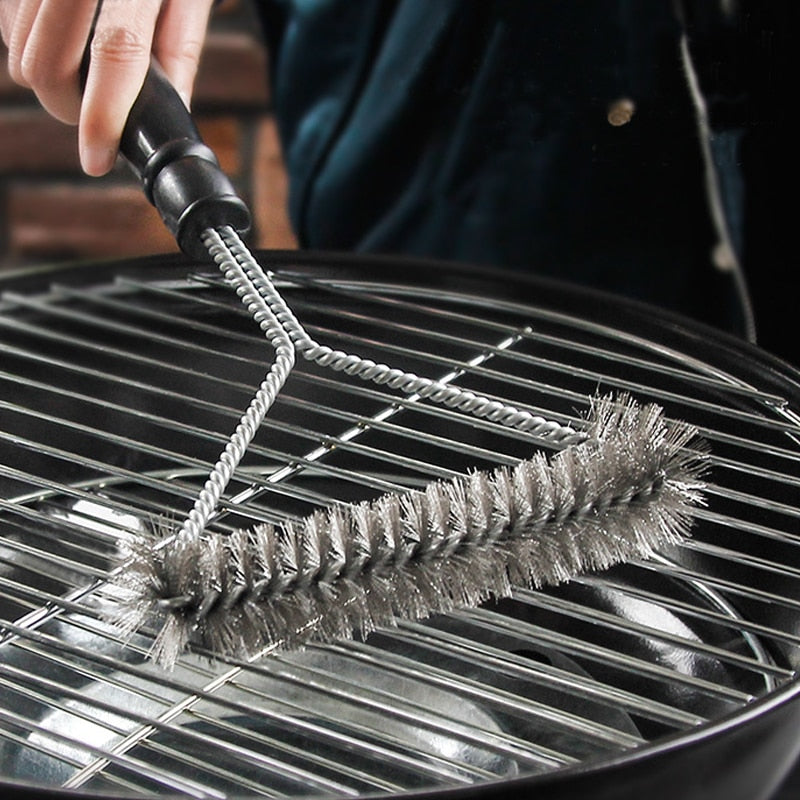 Barbecue Kit Cleaning Brush Stainless Steel - COOLCrown Store