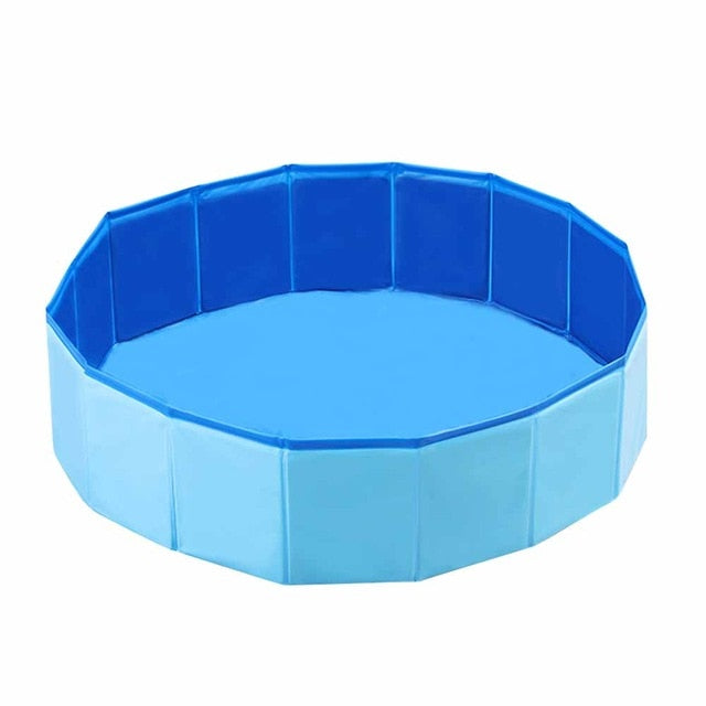 Foldable Dog Pool Pet Bath Summer Outdoor Portable Collapsible Bathtub Swimming Pools - COOLCrown Store