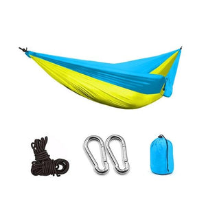 Portable Camping Parachute Hammock Survival Double Hanging Bed - COOLCrown Store