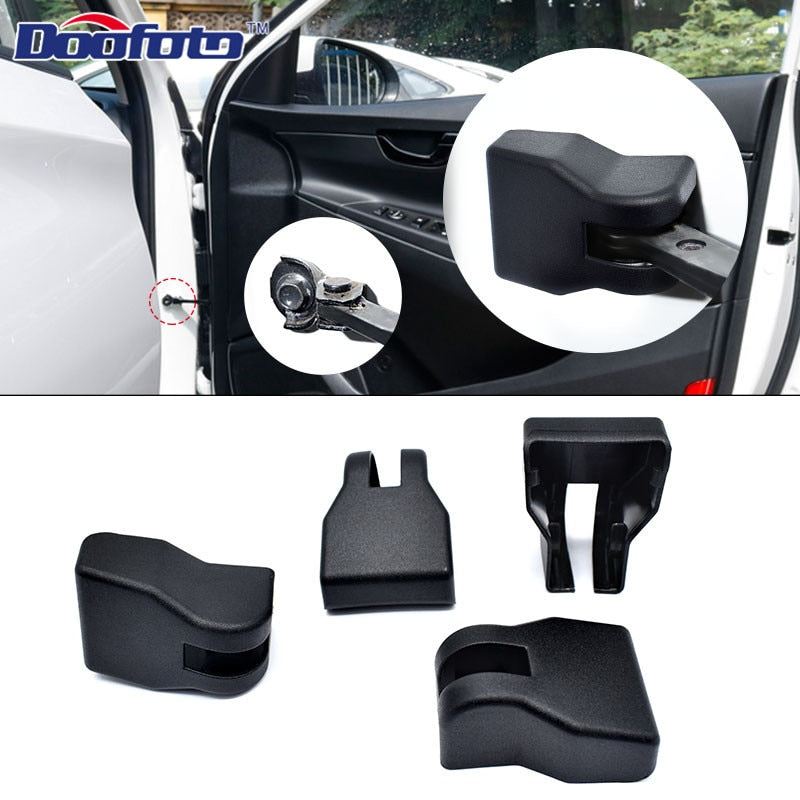 4x Car Door Limiting Stopper Cover For Hyundai - COOLCrown Store
