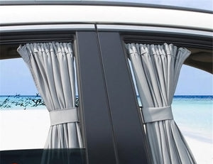 2pcs Car Curtain Window Sunshade - COOLCrown Store