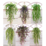 3pcs Artificial Fake Silk Flower Vine Garden Decoration Hanging Garland Plant - COOLCrown Store