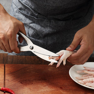 Unique 2 in 1 Kitchen Stainless Steel Cutter Scissors - COOLCrown Store