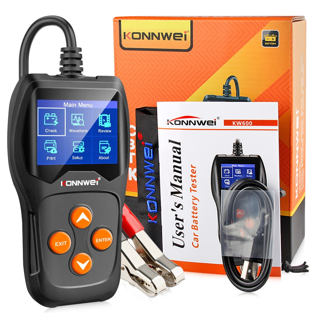 Car Battery Tester 12V 100 to 2000CCA - COOLCrown Store