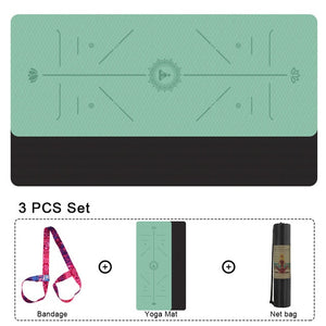 Non-slip Yoga Pilates Gym Exercise Fitness Mat - COOLCrown Store