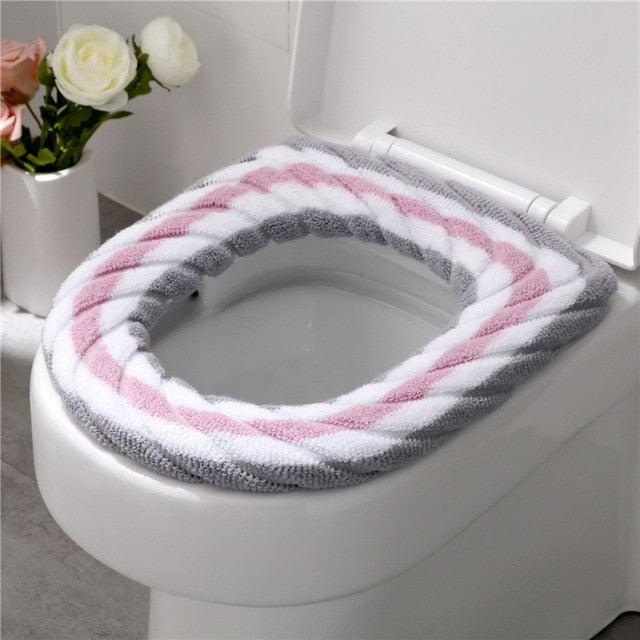 Warm Soft Washable Toilet Seat Cover - COOLCrown Store