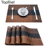 PVC Washable Placemats for Dining Table - COOLCrown Store