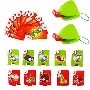 Lizard Mask Wagging Tongue Lick Cards Board Game - COOLCrown Store