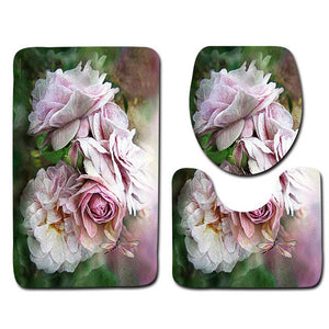 3pcs Bathroom Mats Set - COOLCrown Store