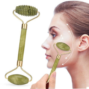 Facial Massage Roller Jade Stone Face Lift - COOLCrown Store