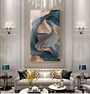 Luxury Nordic Canvas Painting Wall Pictures Decor - COOLCrown Store