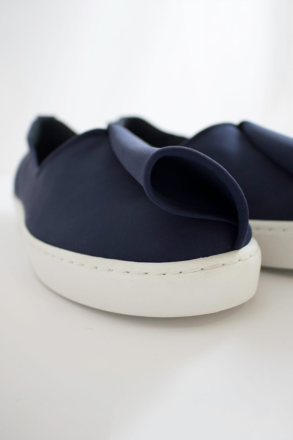 Neoprene Slash Slip-Ons (Men) - Navy