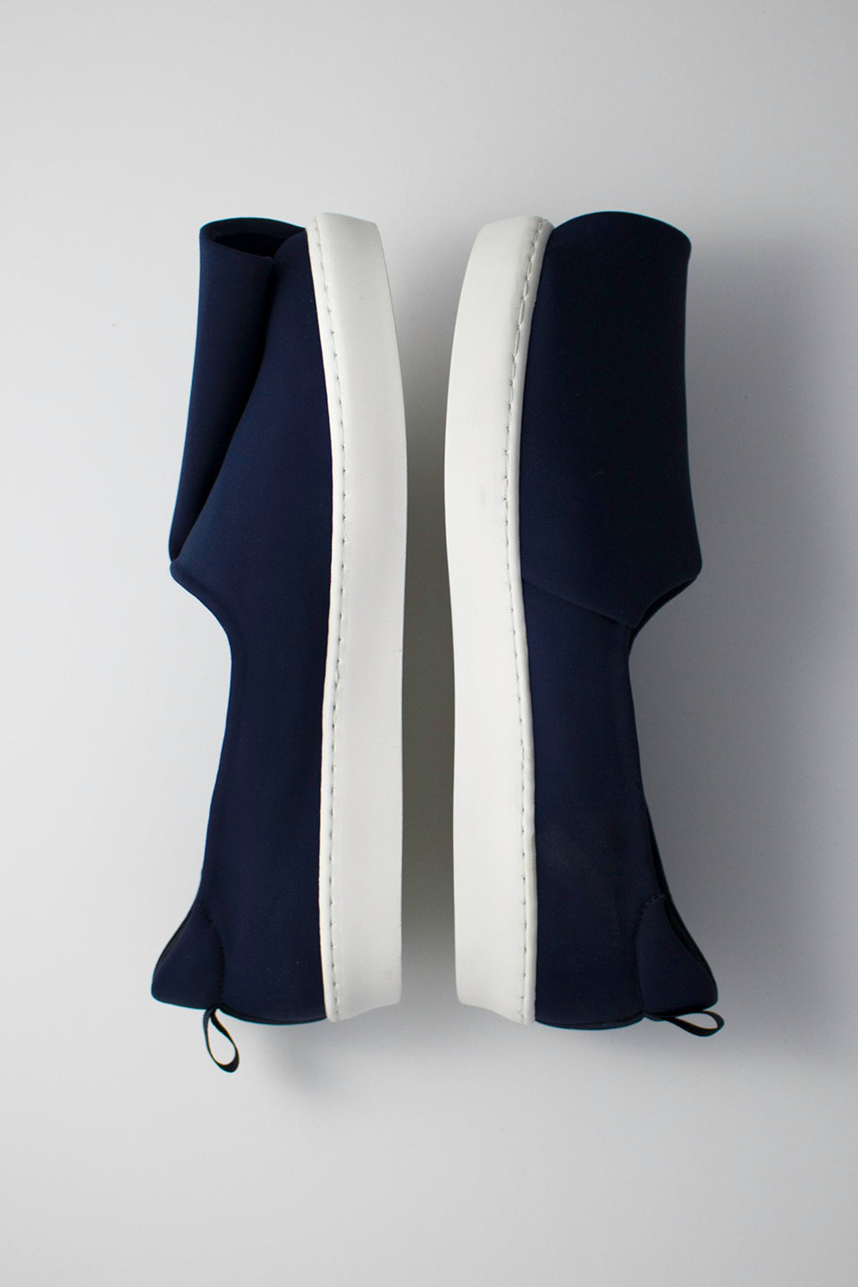 Neoprene Slash Slip-Ons (Women) - Navy