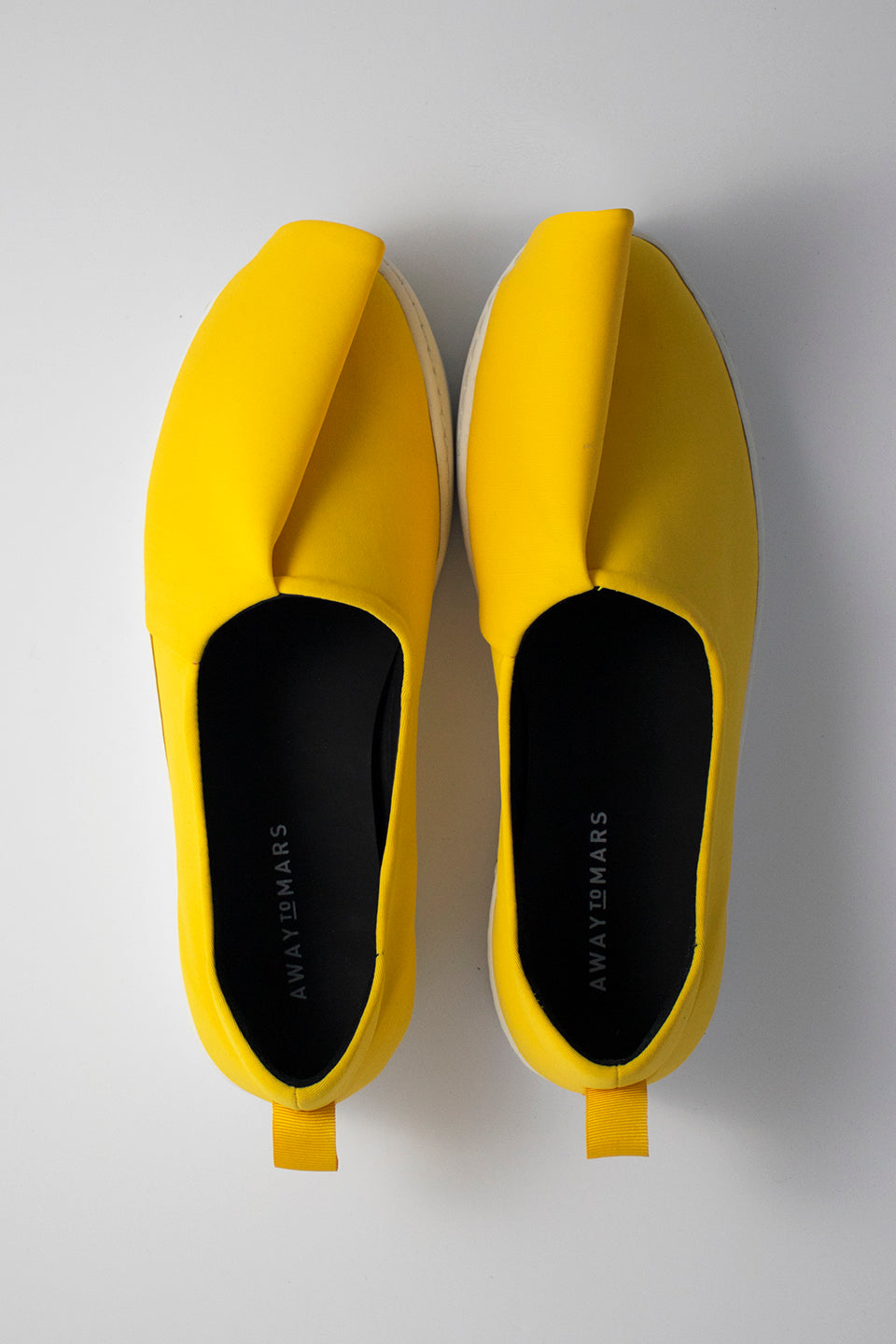 Neoprene Slash Slip-Ons (Men) - Yellow
