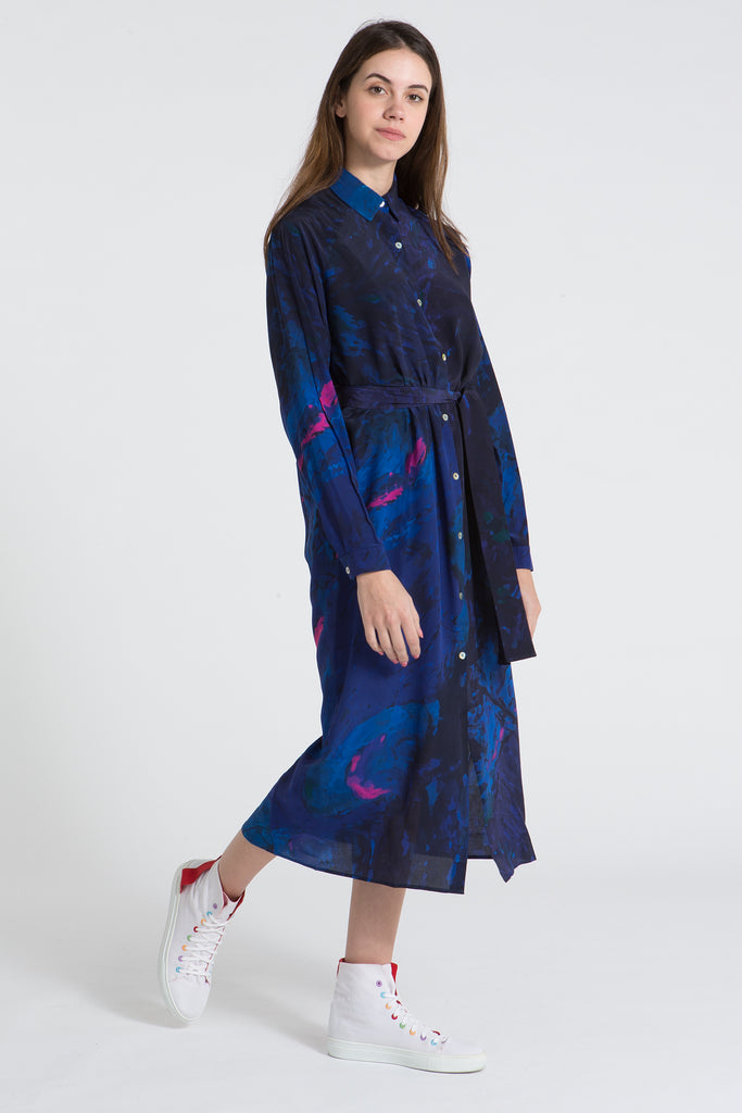 BLAUW Button Down Dress