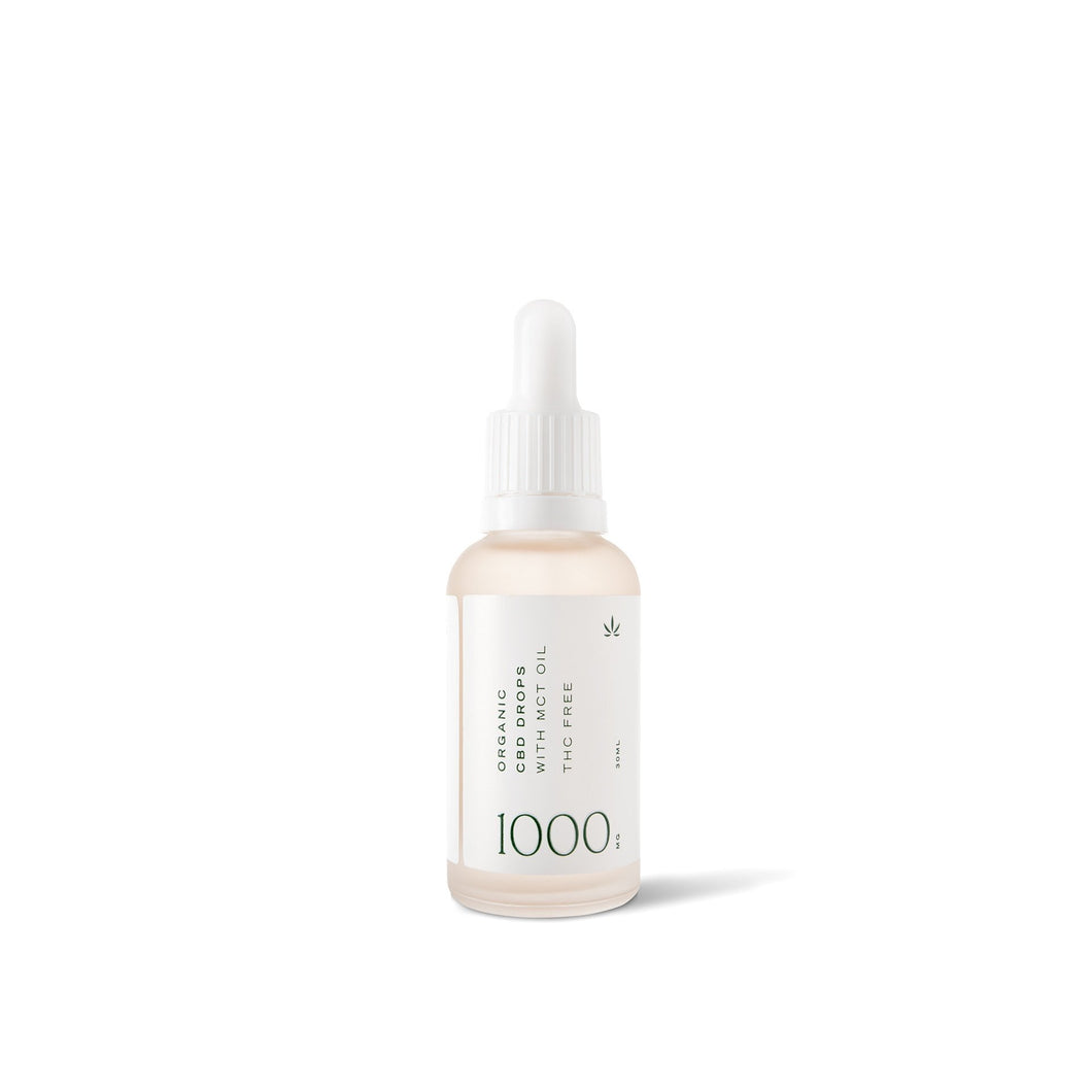 CBD Oil Drops 1000mg - 30ml