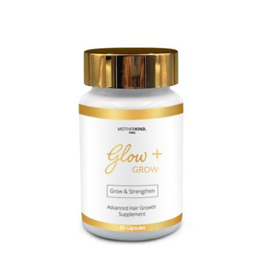 Developed to assist in hair growth and thickening of hair for males and females. Glow + Grow Advanced Hair Growth is an all natural product that delivers all the necessary ingredients for your hair follicles and hair strand health.