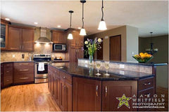Examples of  indoor kitchen design projects by Solution for Spaces, Kalispell Montana