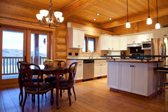 Example and testimonial for indoor kitchen design projects by Solution for Spaces, Kalispell Montana
