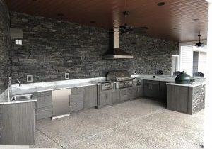 Testimonial for dream outdoor kitchen, barbeque and grill design by Solution for Spaces, Kalispell Montana