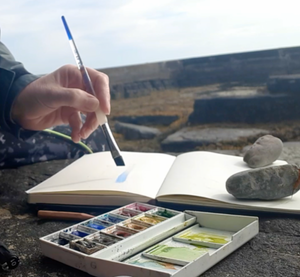 Watercolour Sketching Outdoors