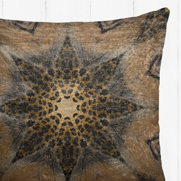 Jaguar Mandela Velvet Cushion - The Patternologist