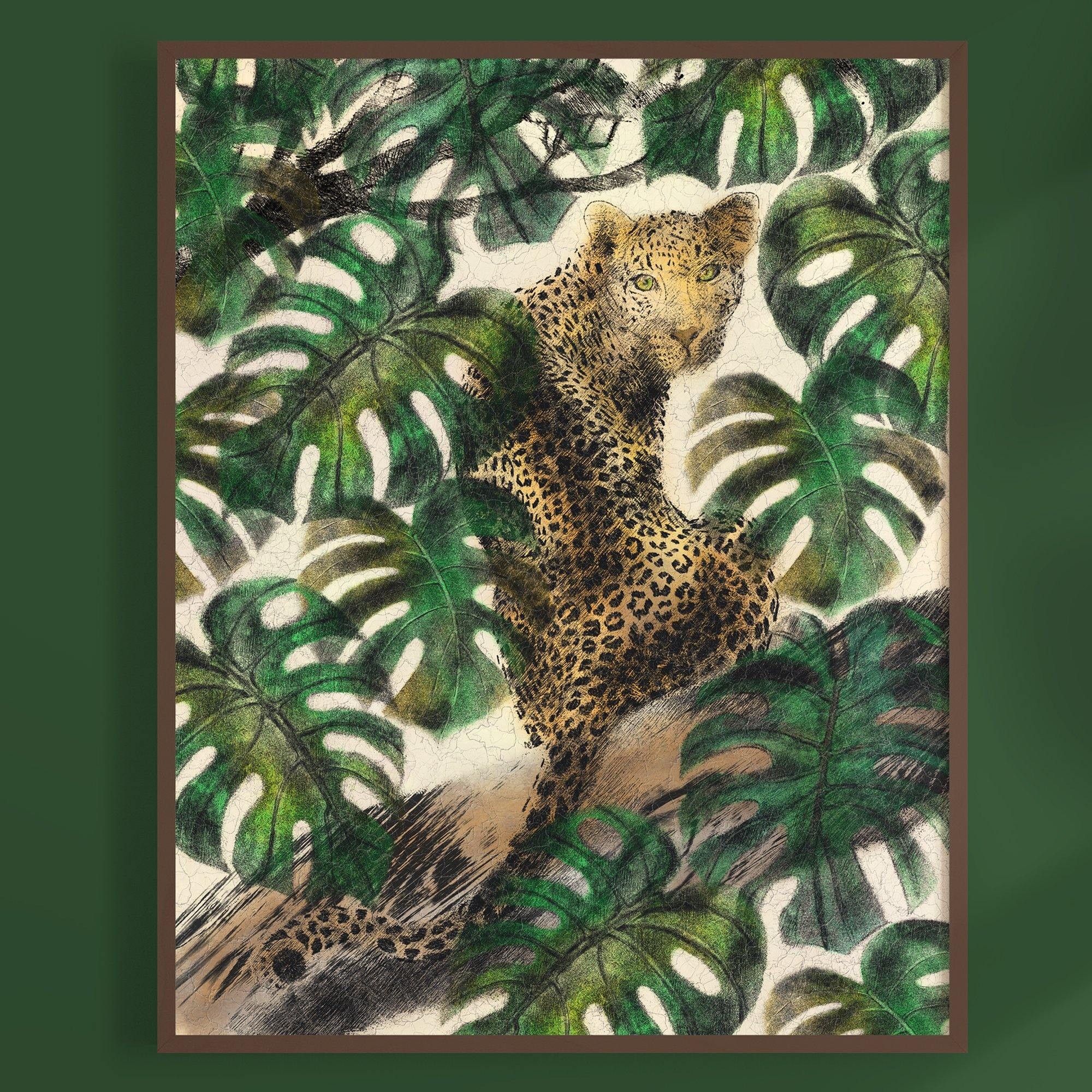 Jaguar Camouflage Artprint - The Patternologist