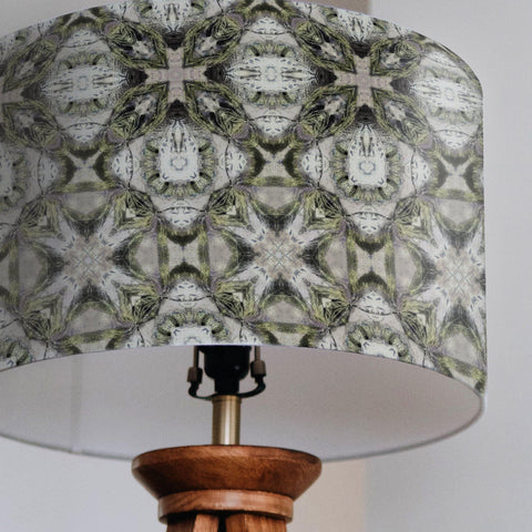 Geometric Pattern Drum Lampshade - The Patternologist