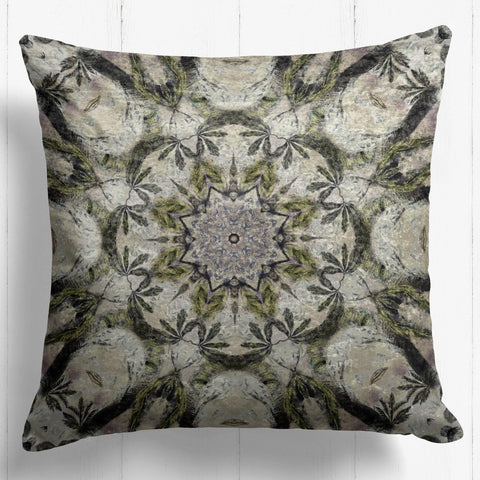 Hornbill Mandela Velvet Cushion - The Patternologist