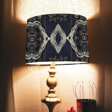 Geometric Little Owl Lampshade - The Patternologist