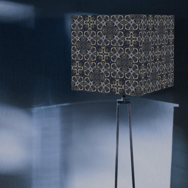 Pythagorean Square Lampshade - The Patternologist