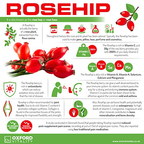Rosehip Extract 4,900mg Tablets