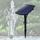 Solar Fountain Water Pump Kit Pond Pool Submersible Outdoor Garden 1.8W - OZ Discount Store