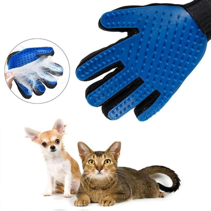 1PC Cat Hair Remove Gloves Cat Grooming Glove Pet Effective Massage
