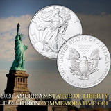 2020 American Statue of Liberty Eagle Coin Silver plated Collection