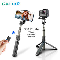 High quality Wireless bluetooth Selfie Stick