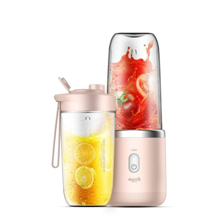400ml Portable Electric Juicer (Pink) - OZ Discount Store