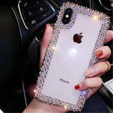 luxury Rhinestone Phone Case For all iPhones
