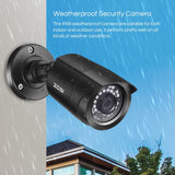 8CH Video Surveillance System 8x720P 1.0MP Outdoor/Indoor IR Weatherproof