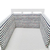 1PCS Baby Crib Cotton Bumpers