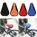 3D Soft Cycling Bicycle Bike Cover Saddle Breathable Mat Cushion Seat Gel Cushion Soft Pad Bicycle Bike Accessories