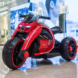 Children's electric motorcycle tricycle kids toy car baby battery car