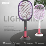 Electric Mosquito Swatter Mosquito Killer Lamp USB Rechargeable