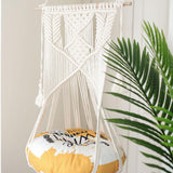 Cotton Handwoven Tapestry Pet Cat Hammock Bed Swing Bohemian Wall Hanging Macrame For Home Bedroom Decoration Without Mat