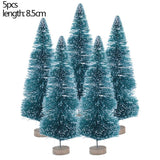 Small Decorated Christmas Tree Fake Pine Tree Mini Artificial Christmas Tree