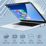2020 NEW 15.6 inch Student Laptop Quad Core 8GB RAM 128GB 256GB 512GB SSD