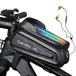 Rainproof Bike Bag Frame Front Top Tube Cycling Bag