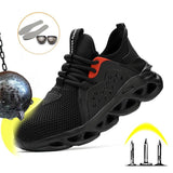 Men And Women Safety Boots Outdoor Workers Shoes