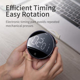 LED Digital Kitchen Timer For Cooking Shower Study Stopwatch