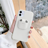 2 in 1 Earphone Storage Box For Airpods Phone Case for iPhone Headset Holder Cover